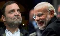 Rahul Gandhi and PM Modi
