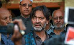 Jammu and Kashmir Liberation Front (JKLF) chief Yasin Malik