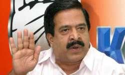 Congress leader Ramesh Chennithala