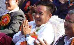 Sikkim chief minister P SGolay
