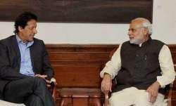 Prime Minister Narendra Modi with his Pakistani counterpart