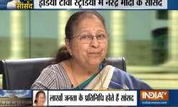 'Mini-parliament': Watch Modi's MPs LIVE on India TV