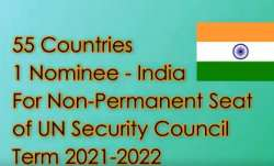 55 nations back India for non-permanent UNSC seat