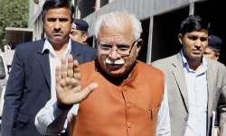 Haryana CM Manohar Lal Khattar meets family of An-32 crash
