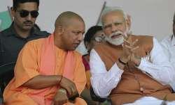 PM Modi with Uttar Pradesh CM Yogi Adityanath