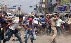 Violence-hit Kankinara in Bengal tense, many held