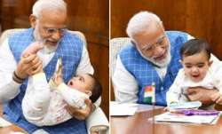 PM Modi's 'special friend' surprises him in Parliament. See