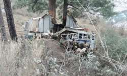 Three IAF personnel killed as truck falls into gorge
