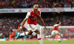 Aubameyang moved onto 17 goals, a tally all the more