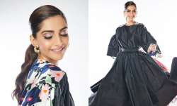 Sonam's black dress with a twist is the exact amount of