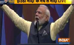 PM Modi exposes Pakistan at Howdy Modi event