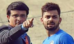 Sourav Ganguly and Virat Kohli