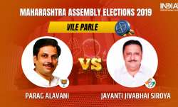 Vile Parle Constituency Result: Parag Alavani of BJP leads