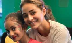 Ananya Panday turns makeup artist for Farah Khan's daughters Anya and Diva