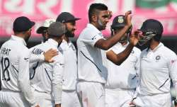 Up next stands India's first crucial test in the