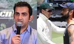 Gautam Gambhir reacts to Tim Paine's request to Virat Kohli