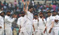 Day-Night Test, Day 1: India in command after Ishant's fifer demolish Bangladesh
