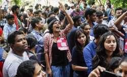 JNU student protests