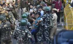 JNU stundents protest latest updates