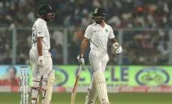 India vs Bangladesh, Day-Night Test Day 1 Live Cricket Score: Pujara hits fifty, Kohli solid