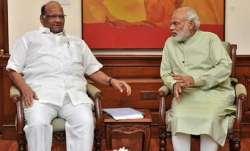 Sharad Pawar PM Modi meet