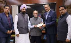 DDCA chief Rajat Sharma meets Delhi Lt Governor, apprises him of recent development in association