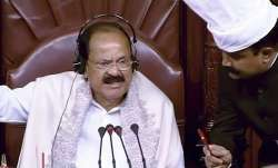 'Sorry state of affairs': Venkaiah Naidu on missing members during Question Hour