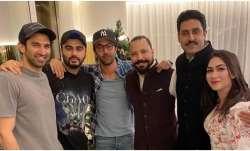 Ranbir Kapoor, Abhishek Bachchan, Arjun and others enjoy
