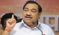 Maharashtra BJP leadership shows traits of 'grudge, envy': Khadse
