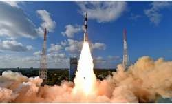 ISRO scientists unfurl antenna of RISAT-2BR1 satellite