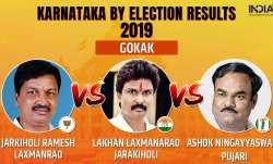 Karnataka Legislative Assembly by-election 2019 Gokak results counting of votes
