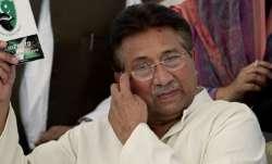Musharraf hospitalised