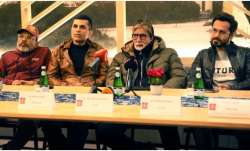 Chehre stars Amitabh Bachchan, Emraan Hashmi attend press