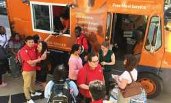Sikh-American's 'Seva Truck' sends out free food