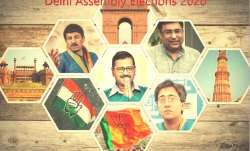Delhi assembly elections 2020 bjp congress aap full list