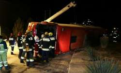 9 dead, over 20 injured as bus overturns in Iran