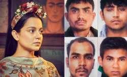 Kangana Ranaut demands public hanging of Nirbhaya rapists