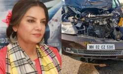 FIR lodged against Shabana Azmi's driver for rash driving