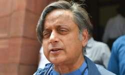 A file photo of senior Congress leader Shashi Tharoor