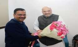 Fruitful meeting, says Kejriwal after meeting Shah