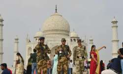 Massive security arrangements have been made in Agra ahead of US President Donald Trump's visit