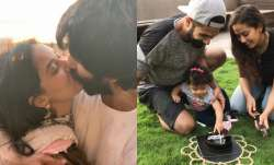 Shahid Kapoor with wife Mira and kids