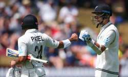 Kyle Jamieson and Trent Boult frustrated the Indian bowlers