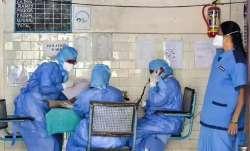 Quarantined man jumps off Delhi hospital building, breaks