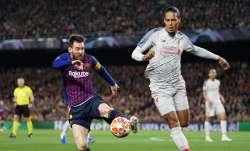 Virgil van Dijk names Lionel Messi as his toughest opponent