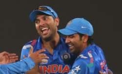 Yuvraj Singh and Rohit Sharma