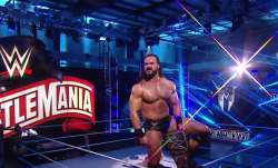 WWE Wrestlemania: Drew Mcintyre beats Brock Lesnar to become WWE Champion; Bray Wyatt outclasses Joh