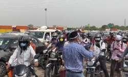 Delhi-Gurugram border sealed, traffic chaos as hundreds of pedestrians protest