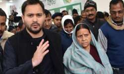 Rabri Devi, Tejashwi among RJD leaders booked for lockdown violation