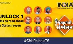 unlock 1, chief ministers, CMs on India TV, lockdown exit, coronavirus